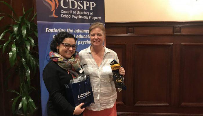 Alejandra Ojeda-Back and Meliaa Bray at CDSPP 2020