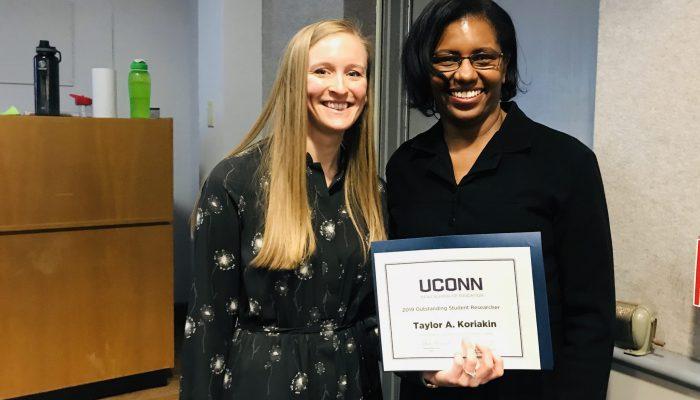Taylor Koriakin - 2019 Outstanding Student Researcher